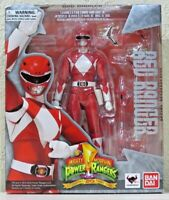 BANDAI Mighty Morphin Power Rangers: Red Ranger S.H.Figuarts Action Figure - NIB