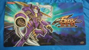 Official Yugioh 5D's Playmat mat - Hobby League - Junk Warrior