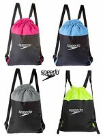 SPEEDO POOL BAG SWIMMING 15L WET GYM KIT POUCH HOLDALL WATERPROOF SWIM BACKPACK