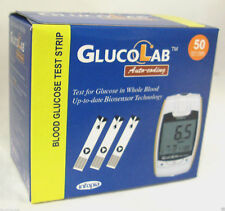 GlucoLab Blood Glucose Diabetic Testing Test Strips **BRAND NEW & SEALED**