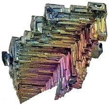Bismuth Crystal -89 grams - 2 1/2 x 1 1/2 x 1  Crystals   BIS057