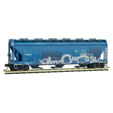 Micro-Trains MTL N Weathered Golden West Service 3 Bay Covered Hopper 09344120