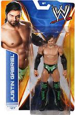 WWE JUSTIN GABRIEL FIGURE WRESTLING SERIES 39 PJ BLACK LUCHA UNDERGROUND TNA
