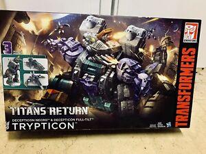 Titans Return: Trypticon MISB NEW CHUG Combiner Wars Generations Classics G1 lot