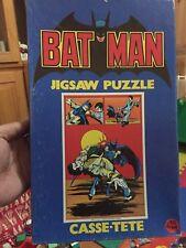 1973 Batman Puzzle Complete