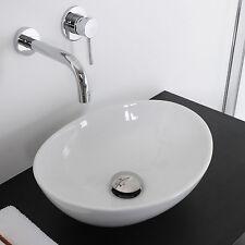 Lavabo 40 x 33 bacinella d'appoggio su piano o mobile lavandino lavello d'arredo