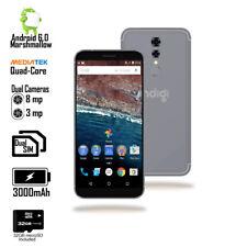 5.6in 4G LTE Unlocked QuadCore DualSim Android Smartphone + 32gb microSD (Black)