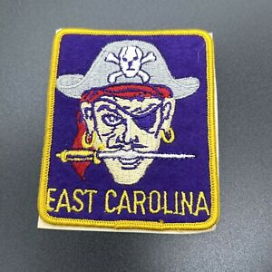 East Carolina University Pirates Vintage Embroidered Patch