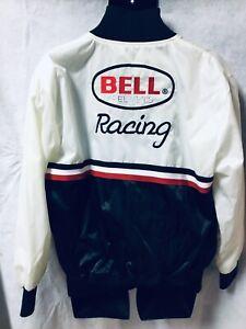 Indianapolis Indy 500 SCOTT BRAYTON Vintage BELL HELMETS Racing Jacket LARGE EUC