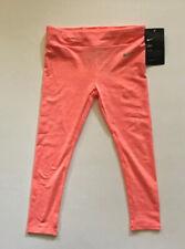 Nike Girl's Dri-Fit Tights Bright Mango Heather Size 4 (3-4Years)MRSP: $30