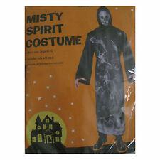 Misty Spirit Death Ghost Adult Mens Halloween Costume Robe & Mask