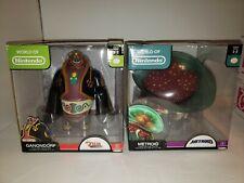 B11 World Of Nintendo Zelda Ganondorf Metroid 6 Inch Deluxe Figures