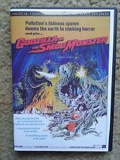 1971 GODZILLA vs THE SMOG MONSTER / HEDORAH DVD with Original AIP Audio