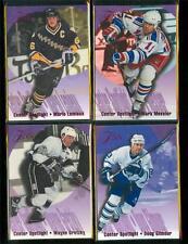 1994-95 Flair Center Spotlight Hockey Set(10)GRETZKY,LEMIEUX,GILMOUR,MESSIER