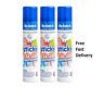 3 or 6 x 200ml De-Solve-it Sticky Stuff Remover Gel Spray Chewing Gum Label Tar