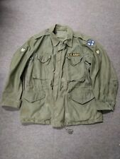 Vintage M1951 M-51 Field Jacket Korean War Era US Army OG 107 Dated 1951 Medium