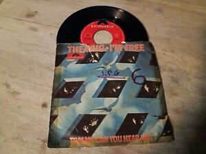 """The WHO """" i'm free / Tommy can you hear me """" or.fr 1969 Polydor 421473 Rare SP"""