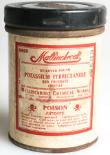 Potassium Ferricyanide 4 Oz Photo Chemical Can