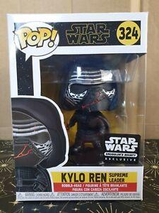 Funko Pop Vinyl - Star Wars #324 Kylo Ren Supreme Leader -new- Smuggler's Bounty