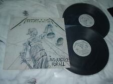 METALLICA ...And Justice for All '88 2LP cultic ORIG UK !!! IMPORT 1st pr NMint-