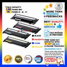 4x Toner Cartridge for Samsung CLT-K406S CLT-C406S CLT-M406S CLT-Y406S CLP365