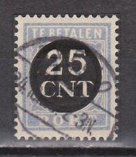 P63 Port nr. 63 CANCEL ALMELO NVPH Nederland Netherlands due portzegel