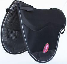 Horse  English Endurance Treeless Non-Slip Neoprene Saddle Pad Black 6405BK1
