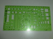 Zeichenschablone elektro - Schaltzeichen