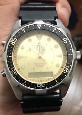 """Casio AMW-3200 """"Arnie"""" Dive Watch Model 1374 Chrono"""