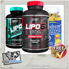 LIPO 6 BLACK | HI TECH PHARMA LIPO HTP | FAT BURNER | THERMOGENIC | HYDROXYCUT