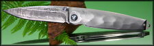 Mcusta Classic Folder Tsuchi Damascus Blade Damascus With Pouch MC-34D NEW L@@K