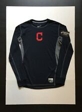 Nike Pro Cleveland Indians Long Sleeve Men's Shirt Size M    NWOT