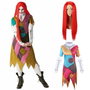 Sally The Nightmare Before Christmas Costumes Adults Christmas Party Fancy Dress