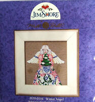 Mill Hill Cross Stitch Bead Kit 'Winter Angel' by Jim Shore 30-0104