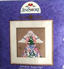 """Mill Hill CROSS STITCH cordone KIT """"Inverno Angel"""" di Jim Shore 30-0104"""