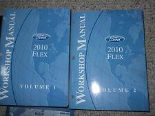 2010 Ford FLEX Service Shop Repair Workshop Manual Set FACTORY DEALERSHIP NEW