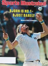 BJORN BORG 7/11/77 Sports Illustrated WIMBLEDON VICTORY