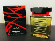 PACO RABANNE TENERE' 50ml Edt Splash Vintage RARE PERFUME!