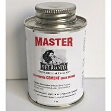 Petronios Master Contact Cement 4oz Glue Shoe sole Adhesive Shoe Repair Cement