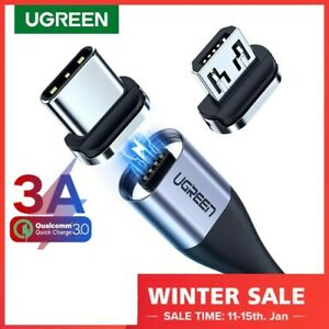 Ugreen Magnetic Charge USB C Micro USB Fast Charge For Android Phone