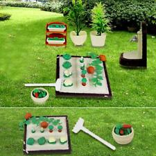 Miniature Gardening Vegetables DollHouse Furniture Outdoor Accessory Play Toys