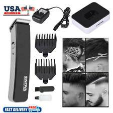 Rechargeable Men Electric Hair Clipper Shaver Beard Razor Trimmer Shaving Kit US
