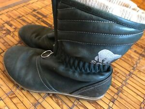 Sorel Womens size 7 Green Leather Firenzy Breve Waterproof Boots Zipper Ankle