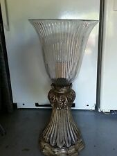 Large table floor lamp greecian up light gothic
