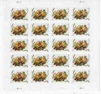 US SCOTT 5200 PANE OF 20 CORSAGE 2 OUNCE RATE STAMPS FOREVER MNH