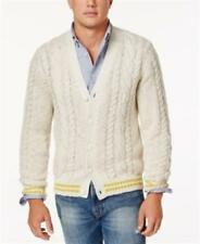 Tommy Hilfiger Cable-Knit Cardigan Mens Size Large New