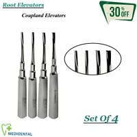 Surgical Root Elevators Coupland Set Of 4