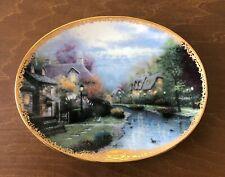 Thomas Kinkade's Lamplight Village Collector Plates, Set of Six (6)
