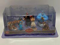 Disney Aladdin Diamond Edition Figurine Playset Disney Store Exclusive Genie +