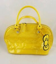 Loungefly Hello Kitty Embossed Purse Yellow RARE Tote Bag
